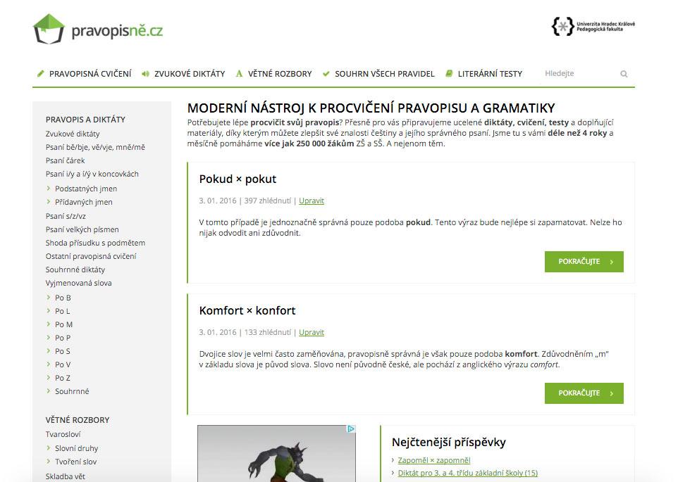Nový design Pravopisně.cz